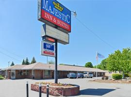 Majestic Inn & Suites, hotel in Klamath Falls