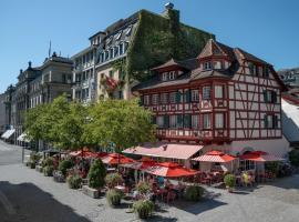 Hotel Rebstock, hotel in Lucerne