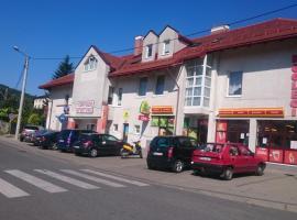 Noclegi Helvet – hotel w mieście Ustrzyki Dolne