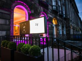 24 Royal Terrace, hotell i Edinburgh