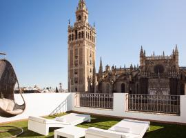 Puerta Catedral Apartments, boutique hotel in Seville