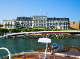 Hôtel Des Trois Couronnes & Spa - The Leading Hotels of the World, hotel in Vevey