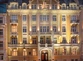 Luxury Spa Hotel Olympic Palace, отель в Карловых Варах