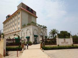 Nidhivan Sarovar Portico Vrindavan, hotel in Vrindāvan