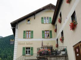 Hotel Adler Garni, hotel in Zernez