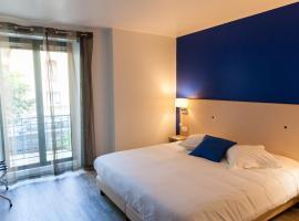 Hotel De La Gare, отель в Кемпере