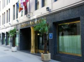Hotel Amadeus, hotel cerca de Aeropuerto de Valladolid - VLL, Valladolid