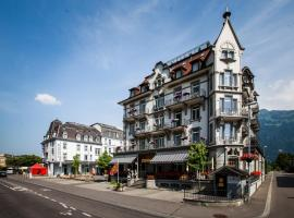Classic Rooms by Carlton-Europe Vintage Adults Hotel, hotel near Interlaken Ost Train Station, Interlaken