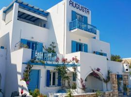 Augusta Studios & Apartments, pet-friendly hotel in Naousa