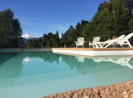 Ecoreserva Quelhue Lodge y Cabañas, hotel en Pucón