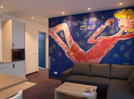 Art Apartment by WestCord, serviced apartment in Amsterdam