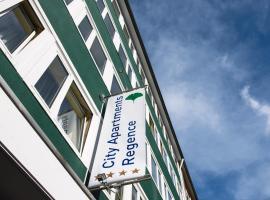 City Apartments Regence, hotel near Aachen Christmas Market, Aachen