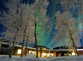 Máttaráhkká Northern Light Lodge, lodge in Kiruna