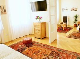 SuperCentral Apartment, hotel poblíž významného místa Synagoga v ulici Dohány, Budapešť