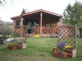 Chalet Confort Aloya, cabin in Ranspach