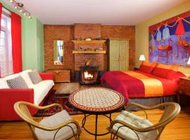 Auberge Les Bons Matins, boutique hotel in Montreal