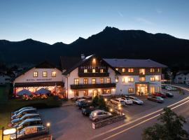 Hotel Goldene Rose, hotel in Reutte