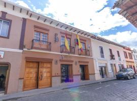 Alejandrina Hotel, hotel em Cuenca
