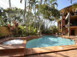 Bermuda Villas, serviced apartment in Noosaville