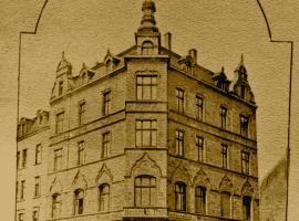 Moderne Wohnung in historischem BVB-Gründungshaus 9, apartment in Dortmund
