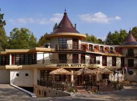 Hotel Kitty, hotel Miskolctapolcán