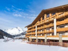 Hôtel Saint Charles Val Cenis, hotel in Lanslebourg-Mont-Cenis