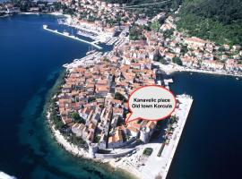 Kanavelic place - Old town Korcula, budget hotel in Korčula