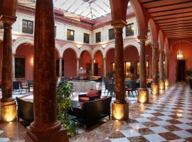 Hotel Santo Domingo Lucena, отель в городе Лусена