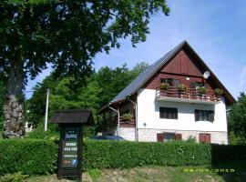 Vila Vuk, отель в городе Плитвицкие озера