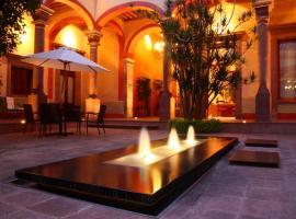 Casona de la Republica Hotel Boutique & SPA, hotel 5 estrellas en Querétaro