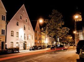 Hotel Blaue Traube, hotel in Schongau
