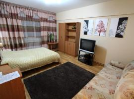 Nadezhda Apartment on Zhibek Zholy 33, hotel in Almaty