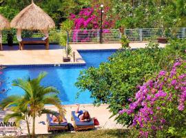 Vanna Hill Resort, resort village in Kep