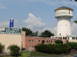 Hôtel de la Tour, hôtel à Le Chambon-Feugerolles près de: EMLYON Campus Saint-Etienne