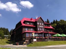 Hotel Bouda Jana, hotel in Pec pod Sněžkou