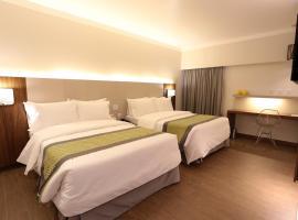 Oasis Plaza Hotel, hotel em Ribeirão Preto