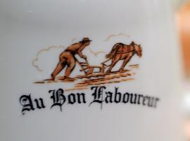 Au Bon Laboureur, hotel near Senonais Golf Course, Bray-sur-Seine