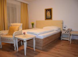 Hotel zum Goldenen Schiff, hótel í Enns