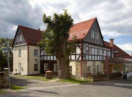 Hotel U Zeleného Stromu – hotel w pobliżu miejsca Góry Połabskie w mieście Janov
