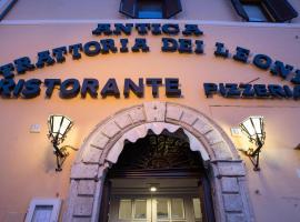 Albergo Dei Leoni, hotel conveniente a Monterotondo