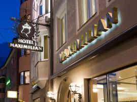 Hotel Maximilian - Stadthaus Penz, boutique hotel in Innsbruck