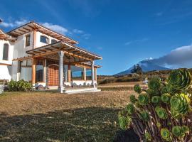 Hacienda Los Mortiños, country house in Machachi