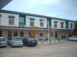Hotel Corona de Castilla, hotel in Villares de la Reina