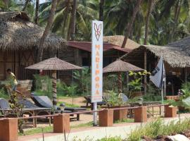 Mariposa Beach Grove, luxury tent in Agonda