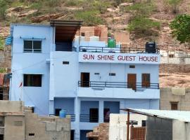 Sunshine Guest House & Restaurant, hotel in Jodhpur