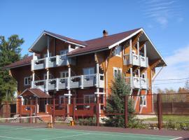 Usadba Novosnezhka, family hotel in Novosnezhnaya