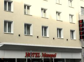 Hotel Monopol, hotel near Kunsthalle Düsseldorf, Düsseldorf