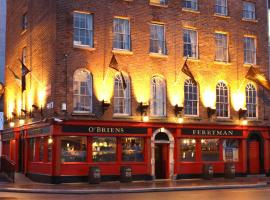 The Ferryman Townhouse, hotel near Lansdowne Road Train Station, Dublin
