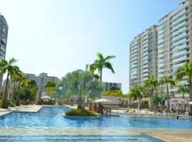 Apartamento Luxo Barra, apart-hotel no Rio de Janeiro