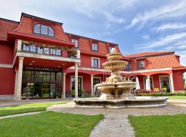 Hotel sv. Ludmila, hotel Szakolcán